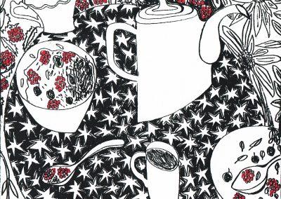 Jane McKeating, Lockdown breakfasts