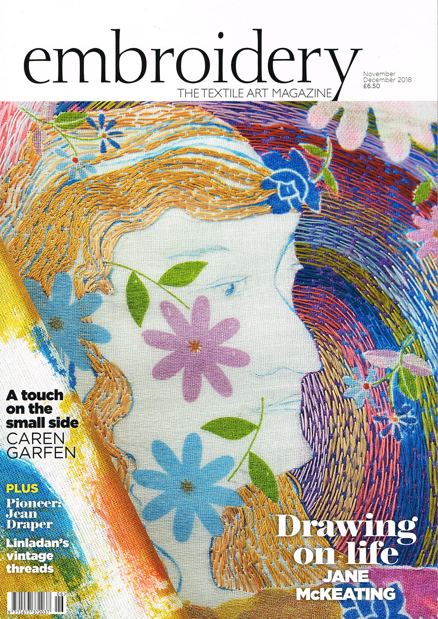 Embroidery The Textile Art Magazine