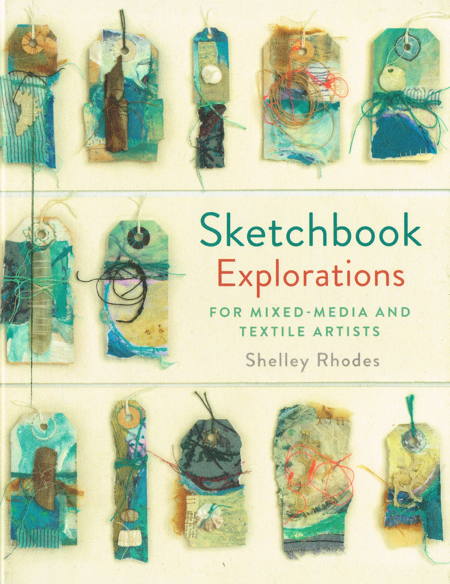 Sketchbook Explorations for mixed media and textile artists