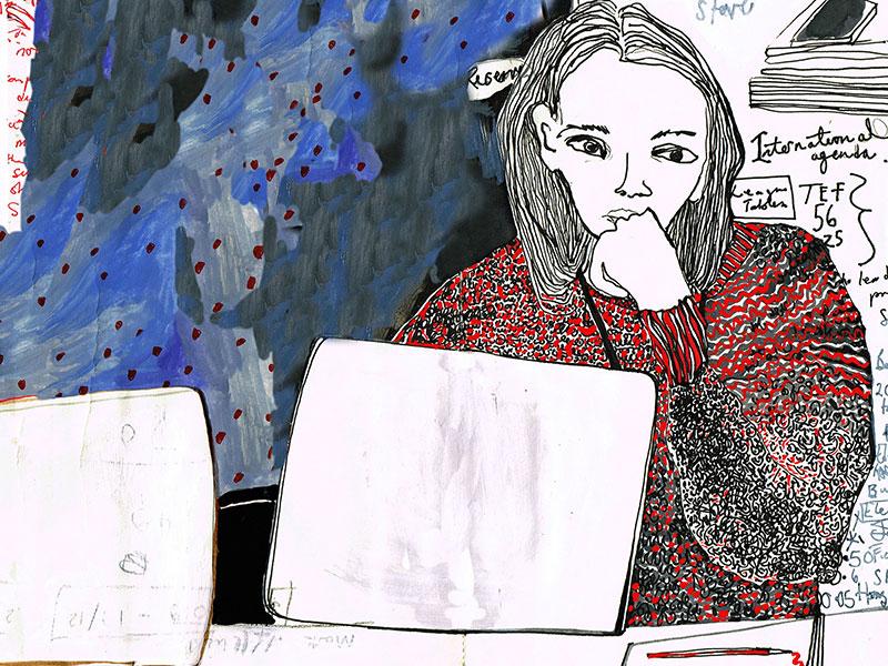 Jane Mckeating, Draw